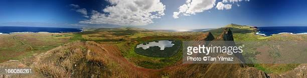 Rano Raraku 360° panorama