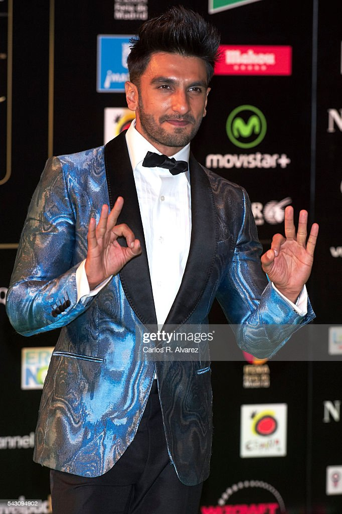 <a gi-track='captionPersonalityLinkClicked' href=/galleries/search?phrase=Ranveer+Singh&family=editorial&specificpeople=5959201 ng-click='$event.stopPropagation()'>Ranveer Singh</a> attends the 17th IIFA Awards (International Indian Film Academy Awards) at Ifema on June 25, 2016 in Madrid, Spain.