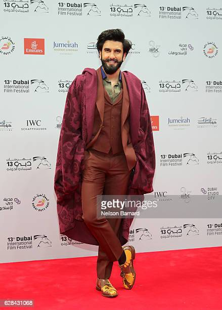 Ranveer Singh attends the Opening Night Gala during day one of the 13th annual Dubai International Film Festival held at the Madinat Jumeriah Complex...