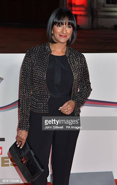 Ranvir Singh arriving at the Sun Military Awards at the Guildhall London