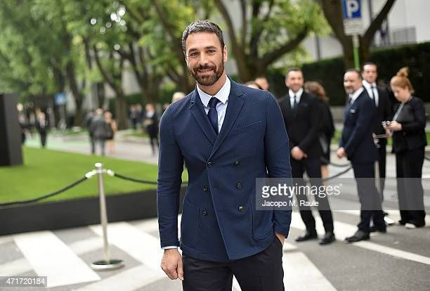 Raoul Bova attends the Giorgio Armani 40th Anniversary Silos Opening And Cocktail Reception on April 30 2015 in Milan Italy