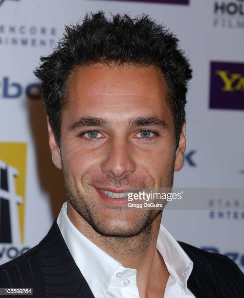 Raoul Bova during The 8th Annual Hollywood Film Festival Hollywood Awards Gala Arrivals at Beverly Hilton Hotel in Beverly Hills California United...