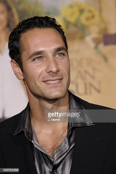 Raoul Bova during 'Under The Tuscan Sun' Hollywood Premiere at El Capitan Theatre in Hollywood California United States