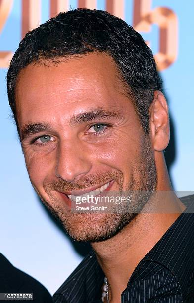 Raoul Bova presenter during 2005 World Music Awards Press Room at Kodak Theatre in Los Angeles CA United States