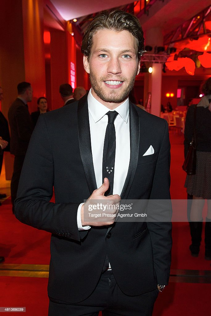 Raoul Richter attends the Gala Night of the FIFA World Cup Trophy Tour on March 29, 2014 in Berlin, Germany.