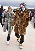 Louis Vuitton : Outside Arrivals - Paris Fashion Week -...