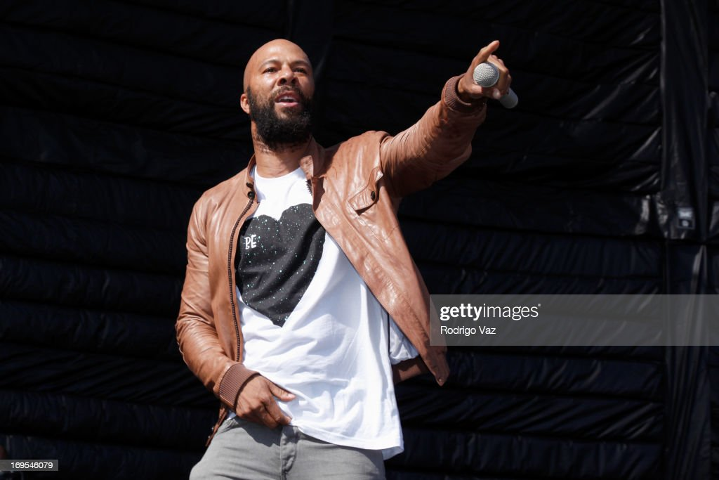 Rap artist Common performs at the 27th Annual JazzReggae Festival - Day 1 at UCLA on May 26, 2013 in Los Angeles, California.