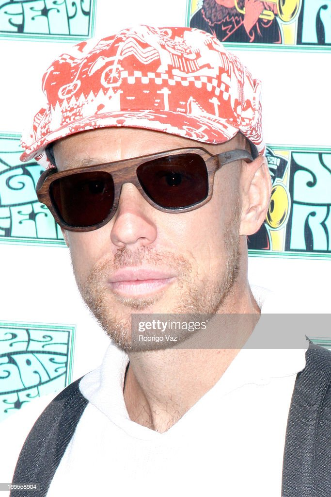 Rap artist Corey 'the Grouch' Scoffern attends the 27th Annual JazzReggae Festival - Day 1 at UCLA on May 26, 2013 in Los Angeles, California.