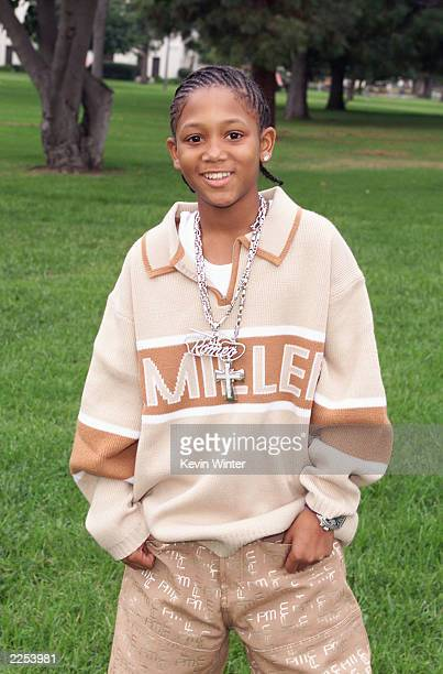 Rap artist Lil' Romeo backstage at the taping of ABC Family's FRONT ROW CENTER at the Wadsworth Theatre Los Angeles CA Nov 10 2001 FRONT ROW CENTER...