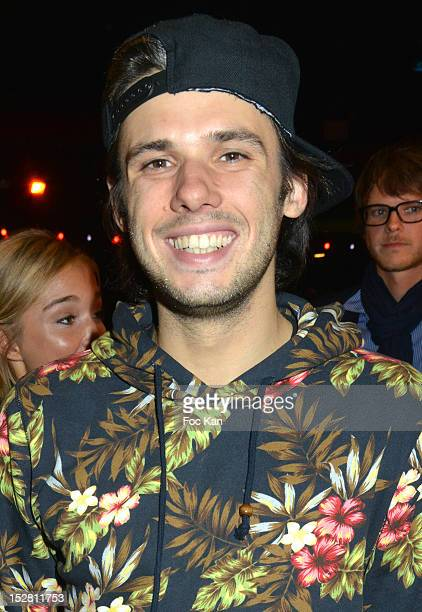 Rap artist Orelsan attends the FIFA 13 Electronic Foot Ball Game Launch Party at the Olympia on September 25 2012 Paris France