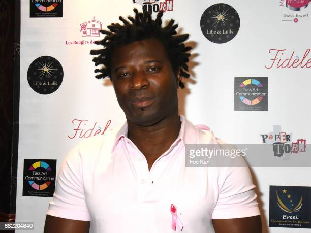 Rap artist Rost Adom attends the 'Souffle de Violette' Auction Party As part of 'Octobre Rose' Hosted by Ereel at Fidele Club on October 16 2017 in...