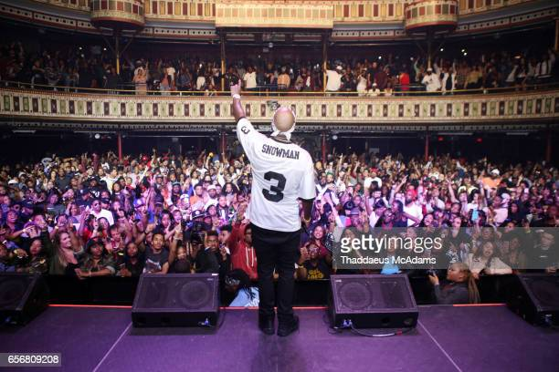 Rap artist Young Jeezy performs in concert in his home town at The Tabernacle on March 22 2017 in Atlanta Georgia
