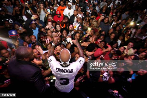 Rap artist Young Jeezy performs live in his home town at The Tabernacle on March 22 2017 in Atlanta Georgia