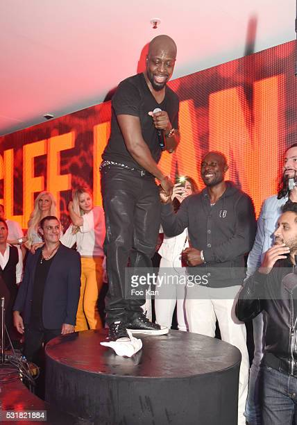 Rap artists Wyclef Jean and Jimmy Jean Louis perform during the Wyclef Jean Party at VIP Room JW Marriott during the 69th annual Cannes Film Festival...