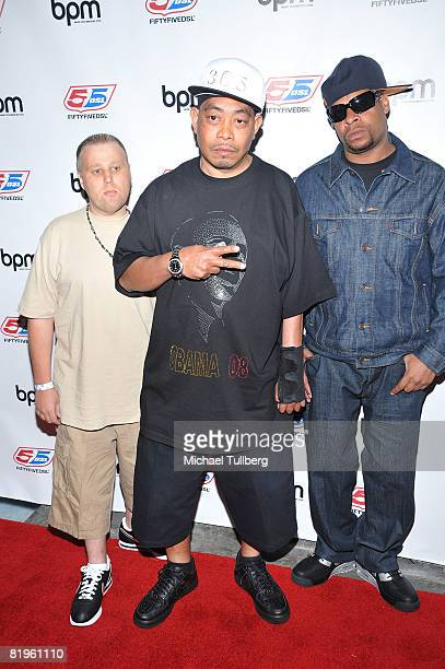 Rap group 2 Live Crew arrives at the BPM Culture Magazine 12Year Anniversary party held at the Avalon nightclub on July 16 2008 in Los Angeles...