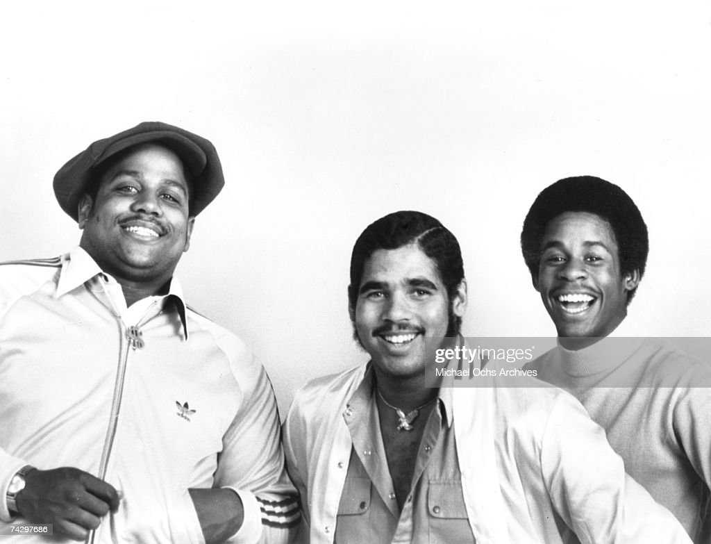 Rap pioneers the Sugar Hill Gang (L-R Big Bank Hank, Wonder Mike and Master G) pose for a portrait circa 1979. Photo by Michael Ochs Archives/Getty Images