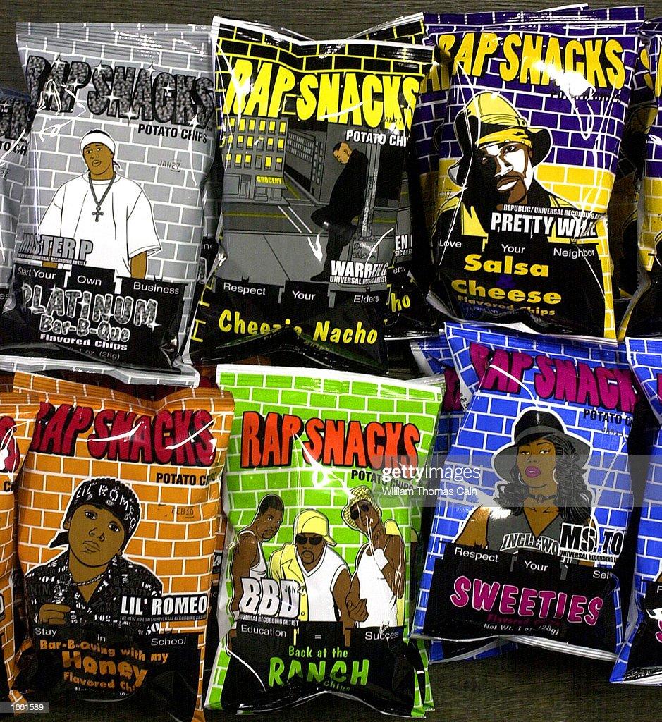 Rap Snacks potato chips are seen at a wholesale distibutor November 26 ...