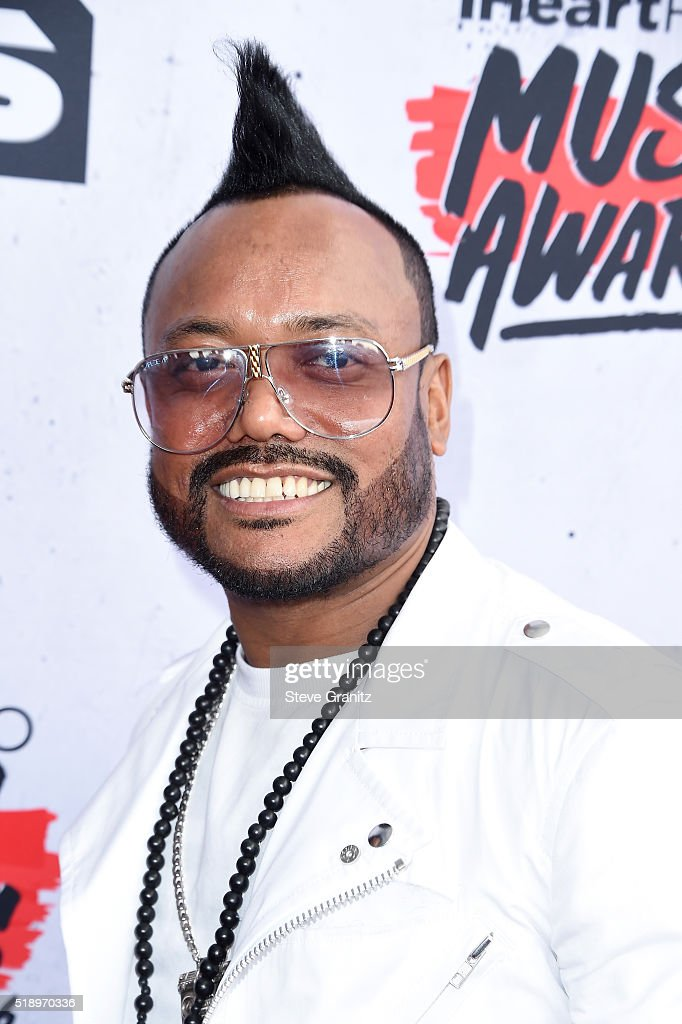 Rapepr apl.de.ap attends the iHeartRadio Music Awards at The Forum on April 3, 2016 in Inglewood, California.
