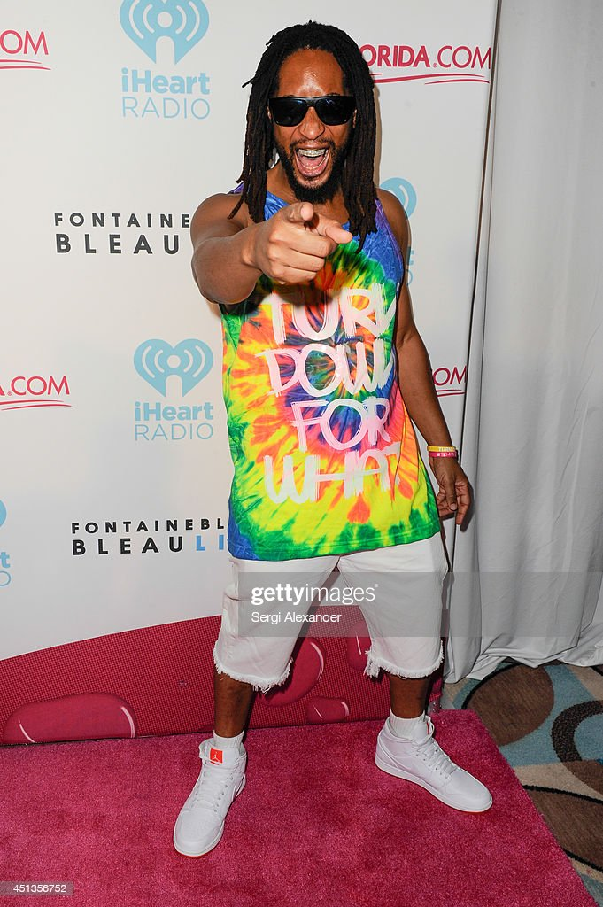 Raper Lil Jon arrives at iHeartRadio Ultimate Pool Party Presented By VISIT FLORIDA At Fontainebleau's BleauLive at Fontainebleau Miami Beach on June...