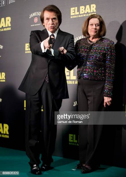 Raphael attends 'El Bar' premiere at Callao cinema on March 22 2017 in Madrid Spain