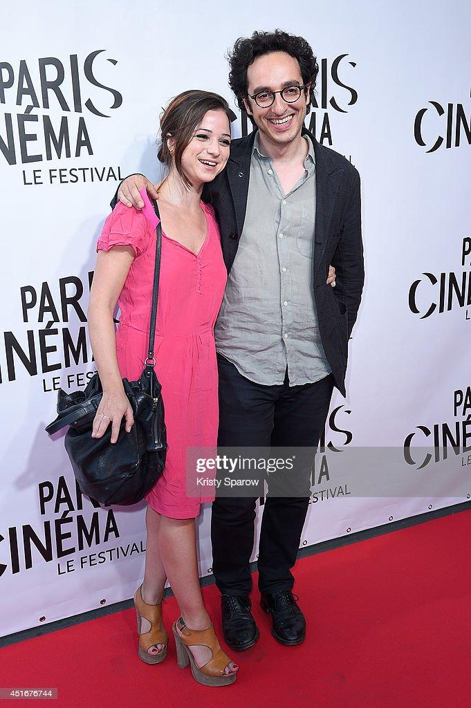 Raphael Chevenement (R) attends the Festival Paris Cinema Opening Ceremony at Cinema Gaumont Capucine on July 3, 2014 in Paris, France.