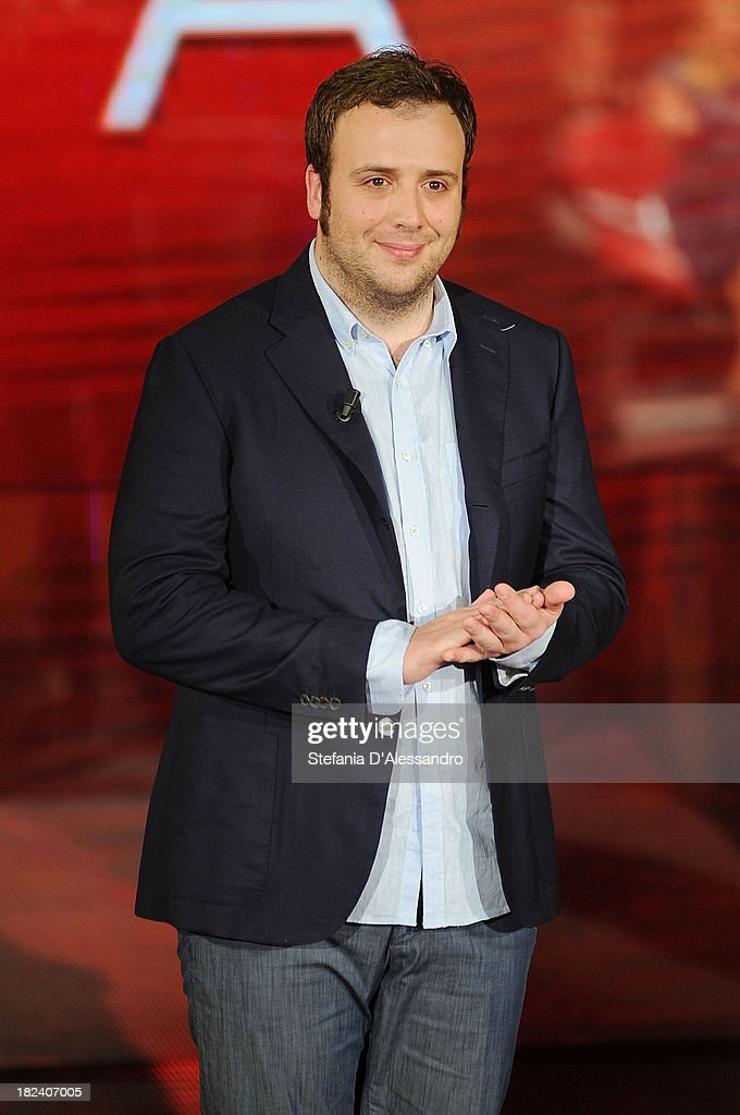 Raphael Gualazzi attends 'Che Tempo Che Fa' TV Show on September 29, 2013 in Milan, Italy.