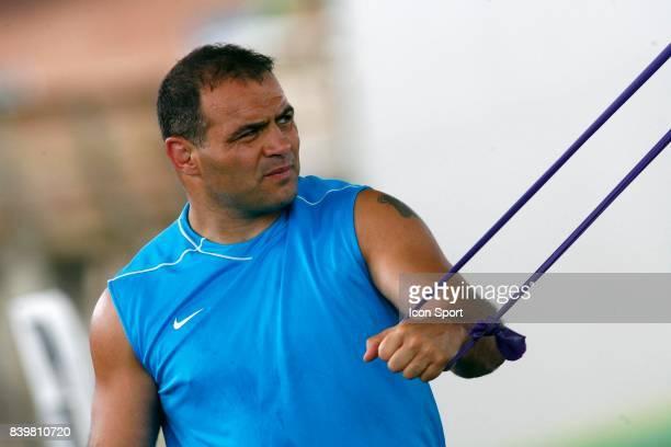 Raphael IBANEZ Preparation de l'equipe de France pour la coupe du Monde 2007 Marcoussis