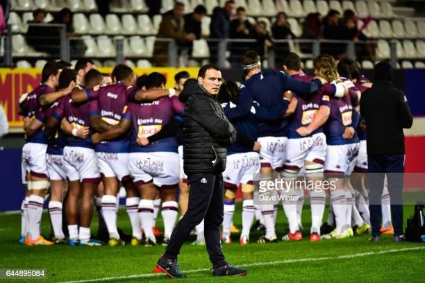 Raphael IBANEZ Stade Francais / Bordeaux Begles 10eme journee de Top 14 Photo Dave Winter / Icon Sport