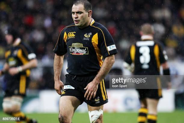 Raphael IBANEZ Clermont / Wasps Heineken cup 2007 / 2008