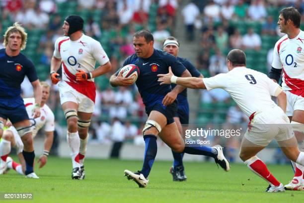 Raphael IBANEZ Angleterre / France Match de preparation Twickenham
