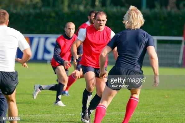 Raphael IBANEZ Entrainement de l Equipe de France Photo Dave Winter / Icon Sport