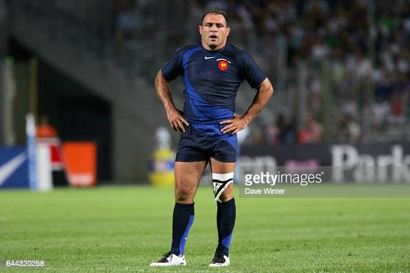 Raphael IBANEZ France / Angleterre Match amical de preparation de la Coupe du monde 2007 Photo Dave Winter / Icon Sport