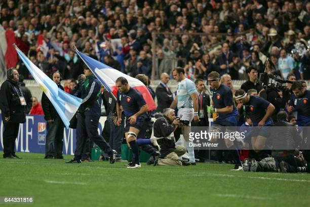 Raphael IBANEZ Argentine/France Coupe du monde de rugby 2007 match pour la 3eme place Parc des Princes Photo Dave Winter / Icon Sport