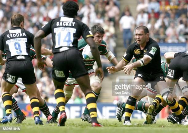 Raphael IBANEZ Leicester Tigers / London Wasps Finale de la Heineken Cup 2007