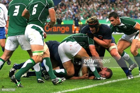 Raphael IBANEZ France / Irlande Coupe du Monde de Rugby 2007 Paris Photo Dave Winter / Icon Sport