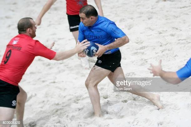 Raphael IBANEZ Eden Park Beach Rugby Paris Bercy