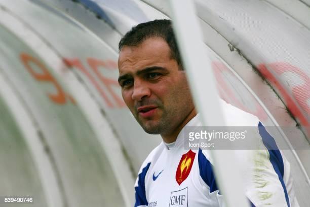 Raphael IBANEZ Entrainement de l'equipe de France CNR Marcoussis
