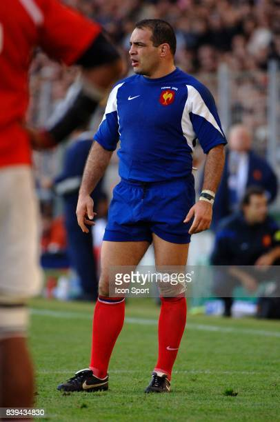 Raphael IBANEZ France / Tonga Test Match a Toulouse