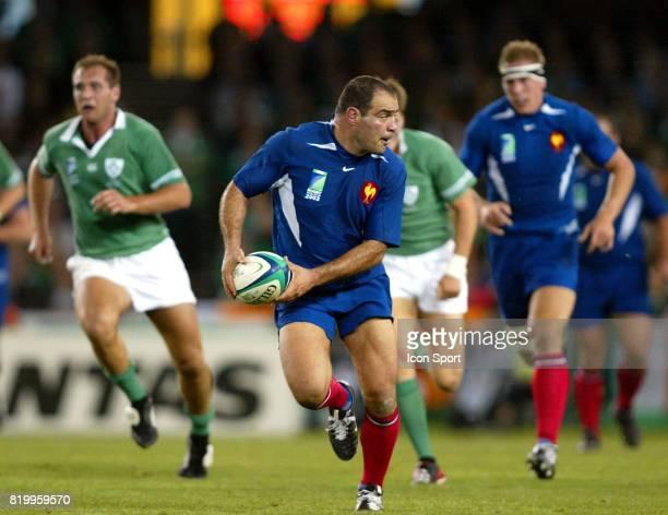 Raphael IBANEZ Irlande / France 1/4 finale Coupe du Monde 2003 Melbourne