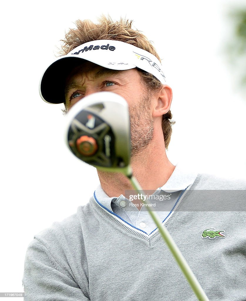Raphael Jacquelin of France during the final round of the Irish Open at Carton House Golf Club on June 30, 2013 in Maynooth, Ireland.