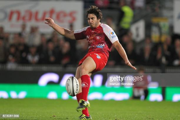 Raphael Lagarde Brive / Montpellier 25eme journee de Top 14