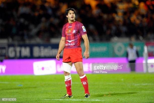 Raphael LAGARDE Racing Metro 92 / Montpellier 1ere Journee du Top 14 Stade Yves du Manoir Colombes