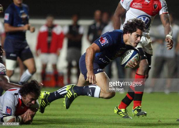 Raphael LAGARDE Montpellier / Toulon 6eme journee de Top 14