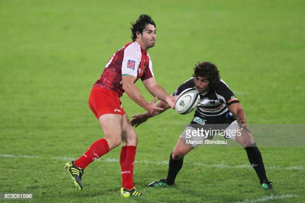 Raphael Lagarde / Mathieu Belie Brive / Montpellier 25eme journee de Top 14