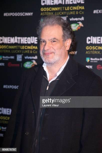 Raphael Mezrahi attends 'Goscinny et le Cinema Asterix Luky luke et Cie' Exhibition at Cinematheque Francaise on October 2 2017 in Paris France