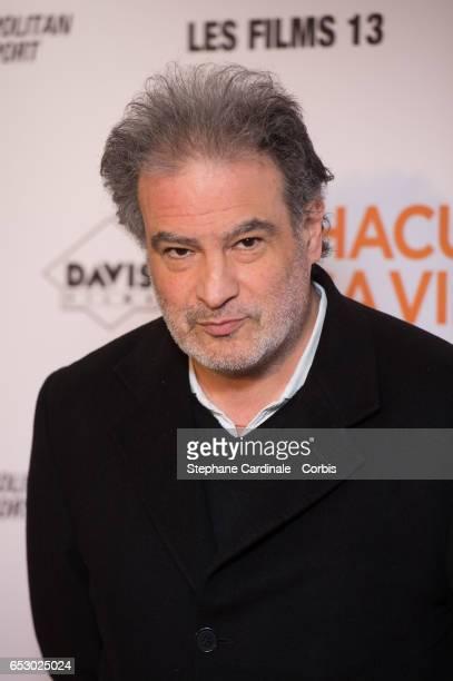 Raphael Mezrahi attends the 'Chacun Sa vie' Paris Premiere at Cinema UGC Normandie on March 13 2017 in Paris France