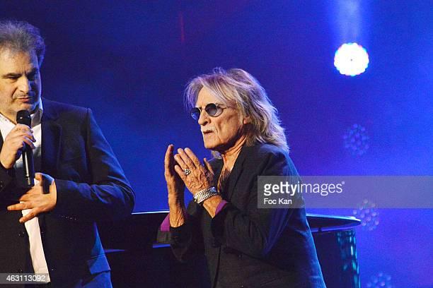 Raphael Mizrahi and Christophe attend 'La 3eme Nuit De La Deprime 2015 ' At Folies Bergeres on February 9 2015 in Paris France