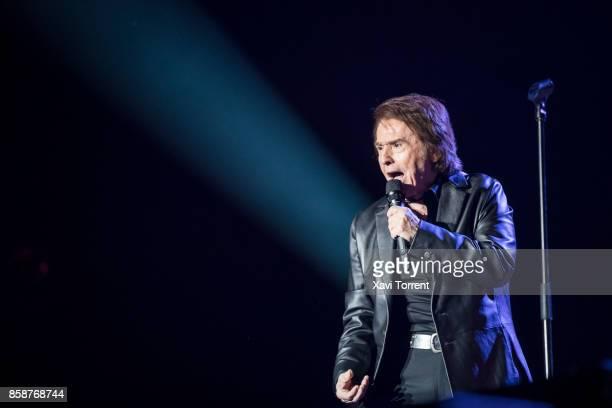 Raphael performs in concert at Palau Sant Jordi on October 7 2017 in Barcelona Spain