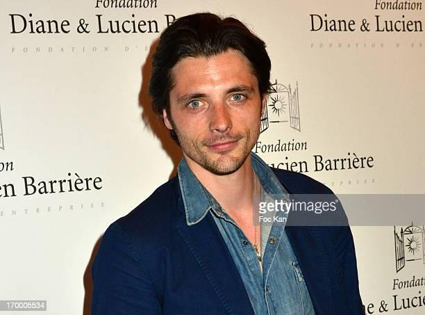 Raphael Personnaz attends 'Les Petits Princes' Premiere At Cinema Publicis Champs Elysees on June 5 2013 in Paris France