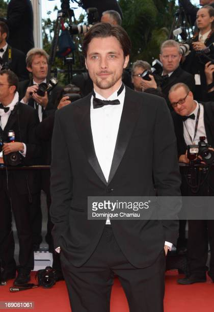 Raphael Personnaz attends the Premiere of 'Inside Llewyn Davis' during the 66th Annual Cannes Film Festival at Palais des Festivals on May 19 2013 in...